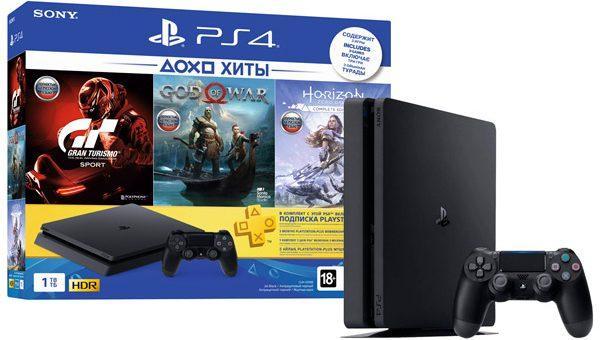 Розыгрыш игровой приставки Sony PlayStation PS4