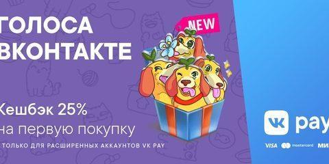 Как получить скидку 25% на покупку голосов ВКонтакте