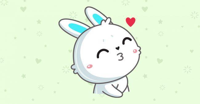 Как получить ВК стикеры Кролик Олег во ВКонтакте