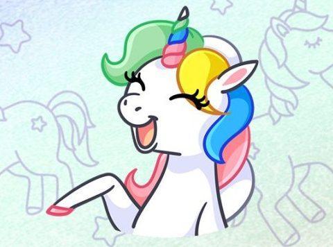 """как получить ВК стикеры Unicorn BOOM от """"Идеальная Кожа Чистая Линия"""""""