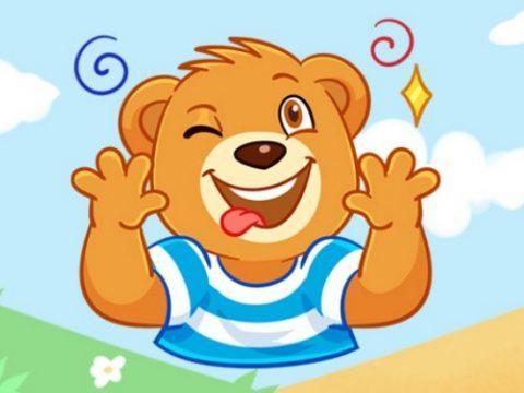Как получить ВК стикеры медвежонок Барни