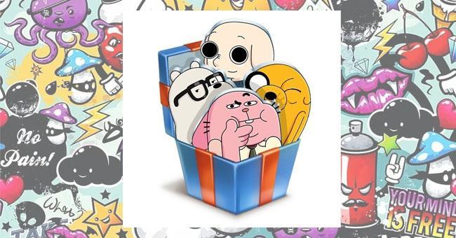Как получить новые стикеры ВКонтакте от Cartoon Network и QR коды