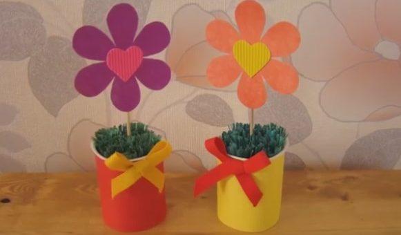 Как сделать подарок маме на День рождения маме своими руками легко и быстро