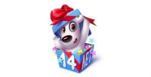 Как получить и подарить самому себе 14 новых бесплатных подарков: 14 лет ВКонтакте