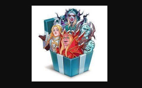 Стикеры ВКонтакте от World of Warcraft