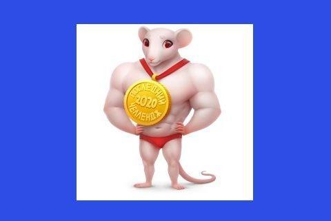 Новый тематический ВК подарок Крыса 2020 Как получить