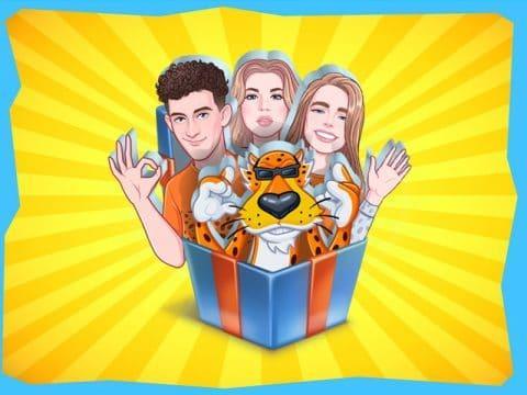 Как получить ВК стикеры Cheetos & Dream Team House